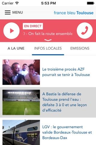 France Bleu - radio et actus screenshot 3