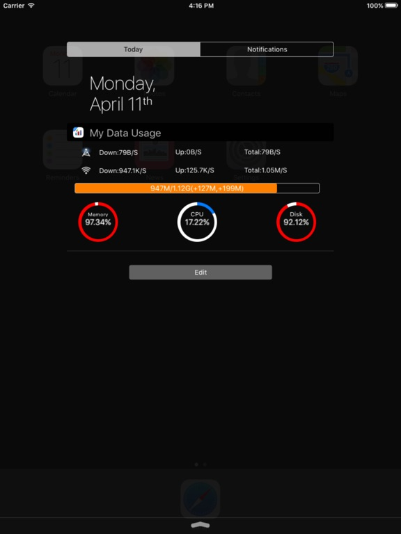 My Data Usage Widget Pro Screenshots