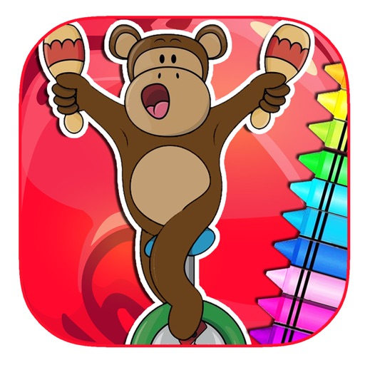 Kids Circus Game For Coloring Book Fun Version iOS App