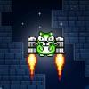 Kitty Jetpackキティジェットパック、非常に曲がりくねったピクセルアドベンチャーゲーム!