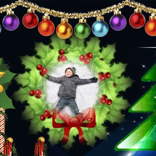 Xmas Jingle bell HD Frame - Creator and Editor iOS App