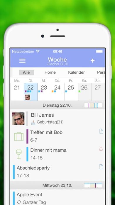 'Extreme Week' Kalender Screenshot