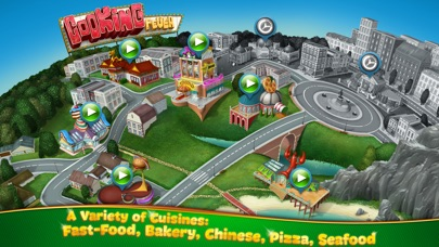 Screenshots of Cooking Fever for iPhone