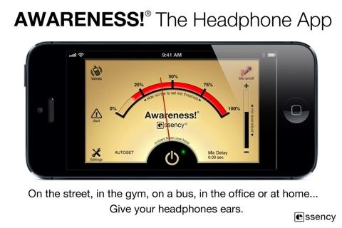 Awareness! The Headphone App screenshot 3