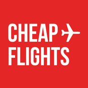 Red Cheap Flights icon
