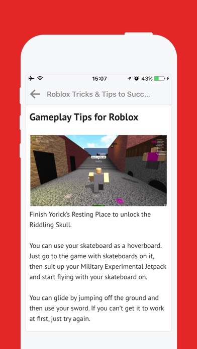 Screenshots of Free Cheats for Roblox - Free Robux Guide for iPhone