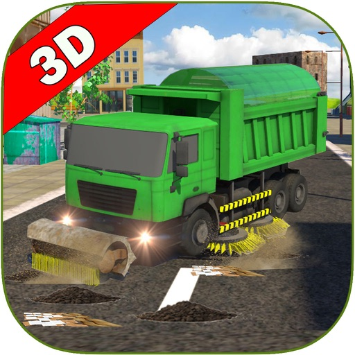 Sweeper Truck: City Roads iOS App