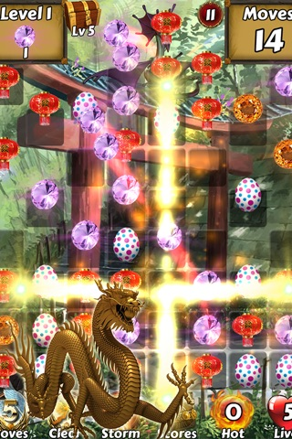 Lucky Dragon Kingdom Adventure - Find the magic ball to save city z screenshot 1