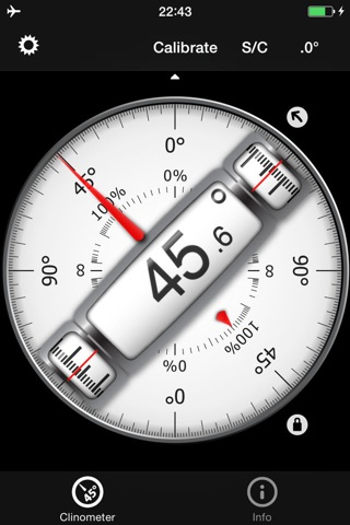 Bubble level and Clinometer screenshot 1