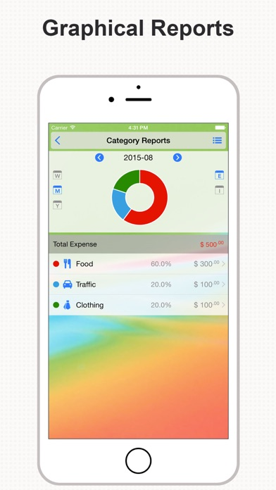 Screenshot #8 for DayCost Pro - Personal Finance, Money Manager