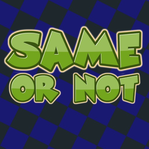 Same or Not by RoomRecess.com iOS App