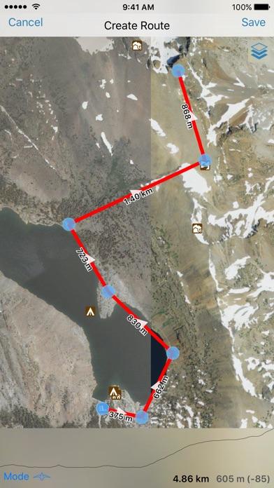 Gaia GPS Classic Screenshots
