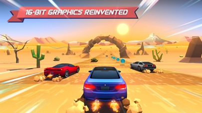 Horizon Chase - World Tour Screenshot on iOS