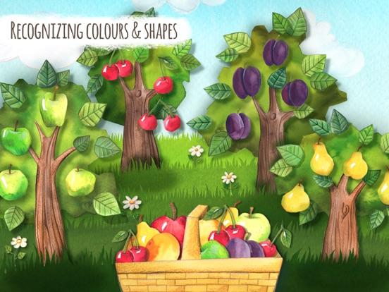 Картинка фруктовые деревья для детей