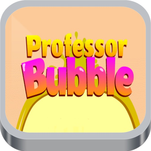 Professor Bubble Game iOS App