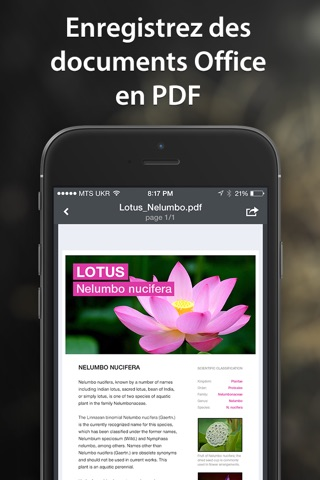 PDF Converter by Readdle screenshot 2