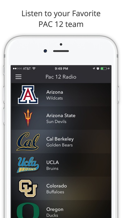 download PAC 12 College Football Radio - Live Games apps 2