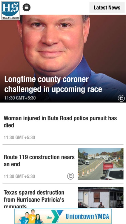Herald Standard News App by Calkins Media Incorporated
