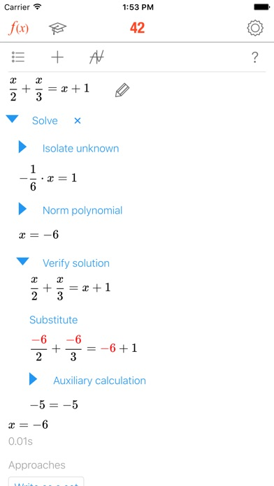 Math 42 Screenshot