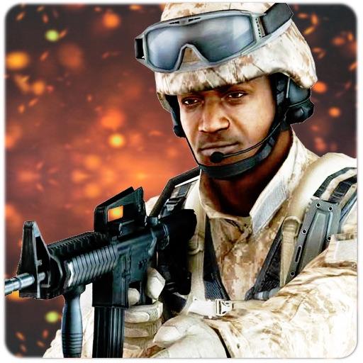 Modern Commando Civil Warfare - Basecamp Attack iOS App