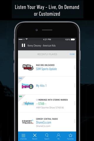 SiriusXM Radio screenshot 1