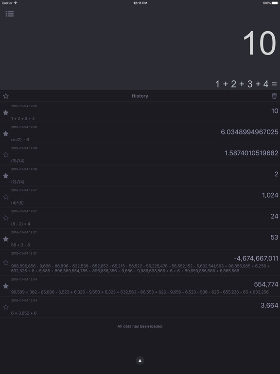 Screenshot #5 for Spark - Smart Calculator and Unit Converter