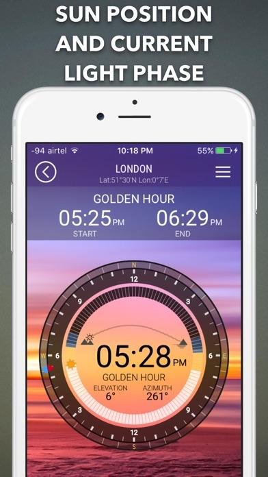 SunIZup - Golden Hour Photos Screenshots