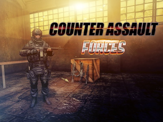 Counter Assault Forces на iPad