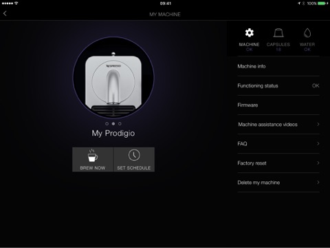 Captura de pantalla del iPad 5