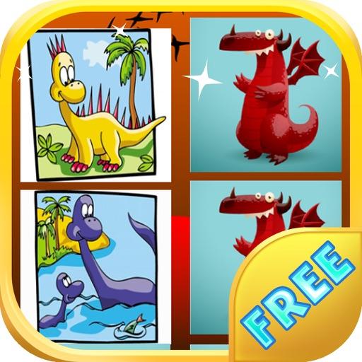 Dinosaurs Memory Game - Dino Cards Memory iOS App