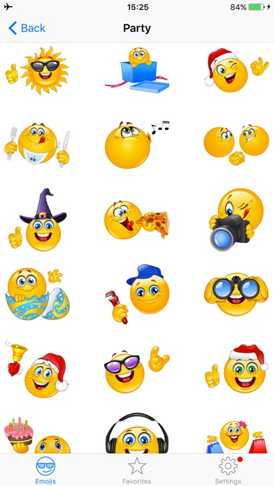 Screenshot for Adult Emojis Icons Pro - Naughty Emoji Faces Stickers Keyboard Emoticons for Texting in United States App Store