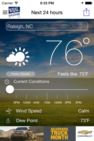 WRAL Weather screenshot 1