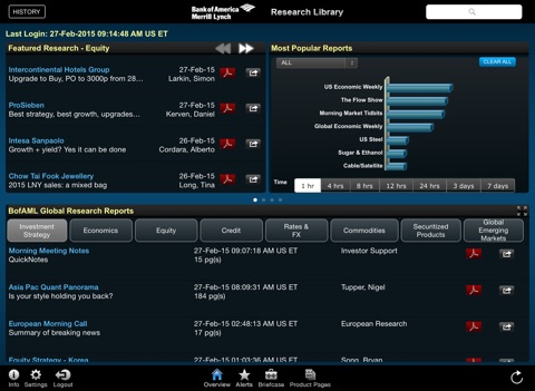 Research Library screenshot 1