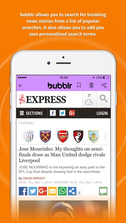 bubblr - your news, delivered. by Bubblr Limited