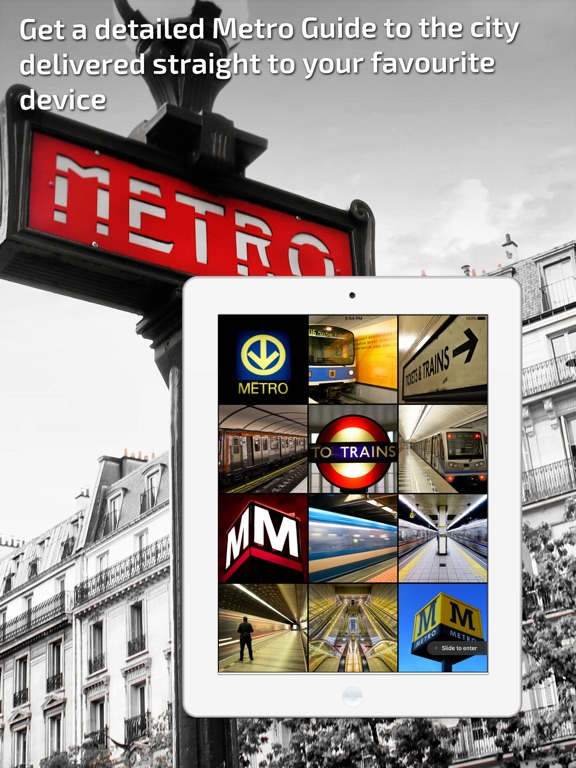 Bucharest Metro Guide and Route Planner Screenshots