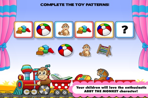 Preschool! & Toddler kids learning Abby Games free screenshot 4