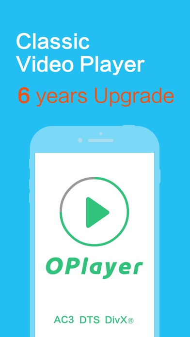 OPlayer - video player, classic media streaming Screenshot