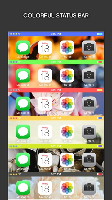 T l charger colorbar for ios 8 customize the color of for Application miroir pour iphone