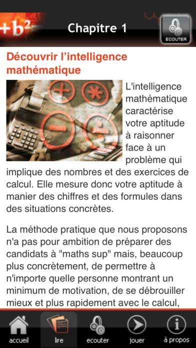Développer son intelligence mathématiqueCapture d'écran de 3