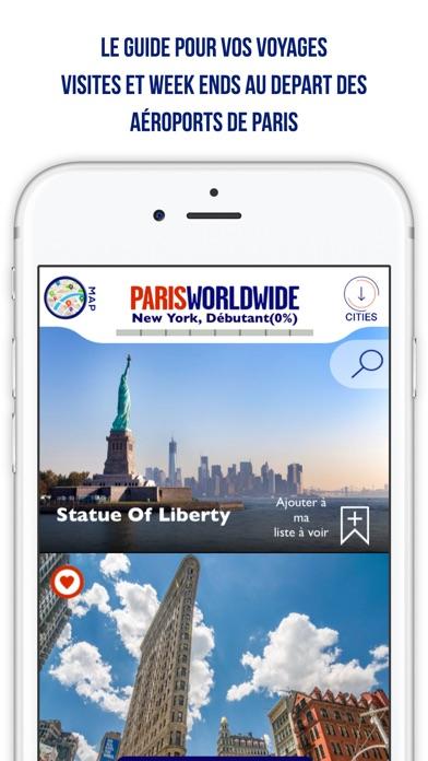 Paris Worldwide - City GuideCapture d'écran de 1
