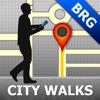 Brugge Map and Walks, Full Version