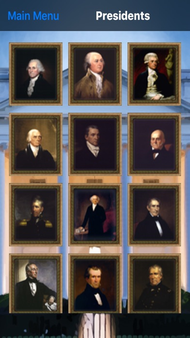 US Presidents (Match'Em Up™ History and Geography) Screenshot