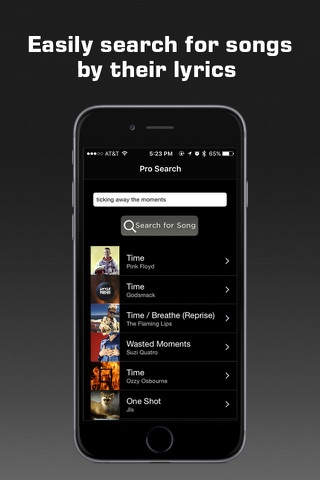 Premium Music Search screenshot 1