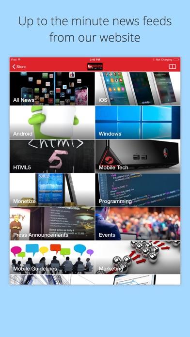 App Developer Magazine review screenshots