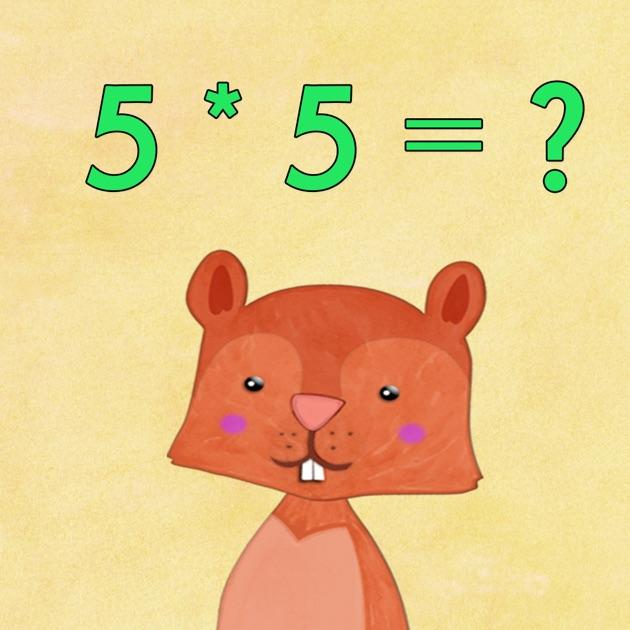 Tables de multiplication pour enfants dans l app store for Multiplication enfant
