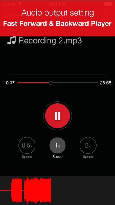 download Recorder Plus : Audio And Voice Memo Recording appstore review