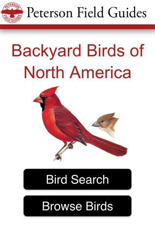 Peterson Field Guides - Backyard Birds screenshot 1