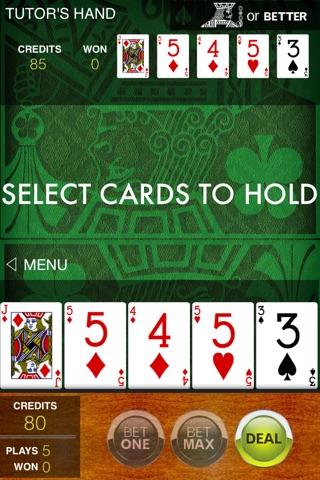 Video Poker Tutor screenshot 2