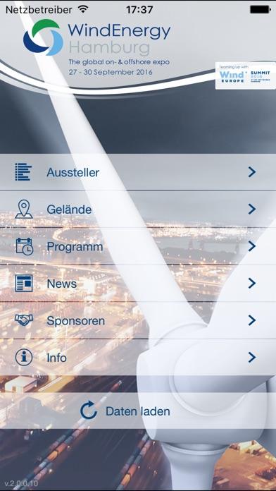 Screenshot von WindEnergy Hamburg 20161