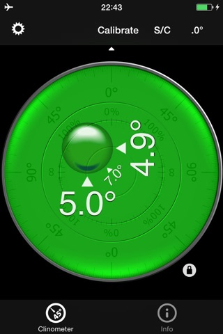 Bubble level and Clinometer screenshot 2